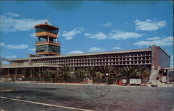 Central Airport Landing Strip Postcard