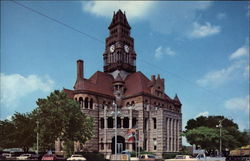 Wise County Courthouse Postcard