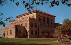 Reeves County Court House Postcard