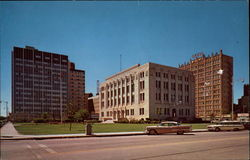 Midland County Court House Postcard