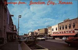 Greetings From Junction City, Kansas Postcard
