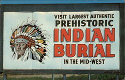 Famous Indian Burial Pit