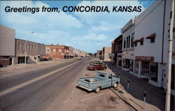 Greetings from Concordia Postcard