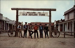 Old Abilene Gunfighters at Old Abilene Town
