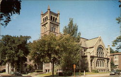 Second Congregational Church Postcard