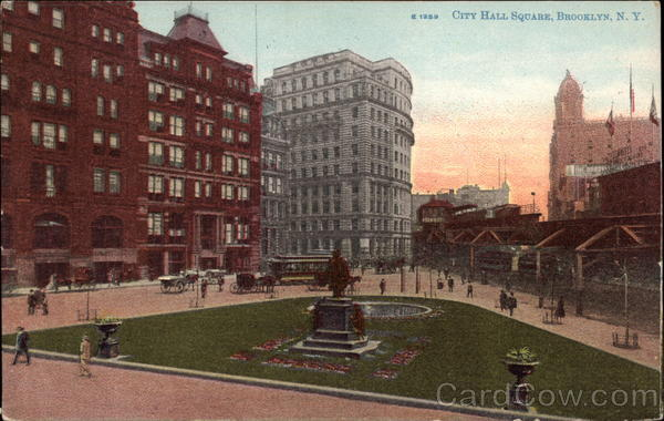 City Hall Square Brooklyn New York