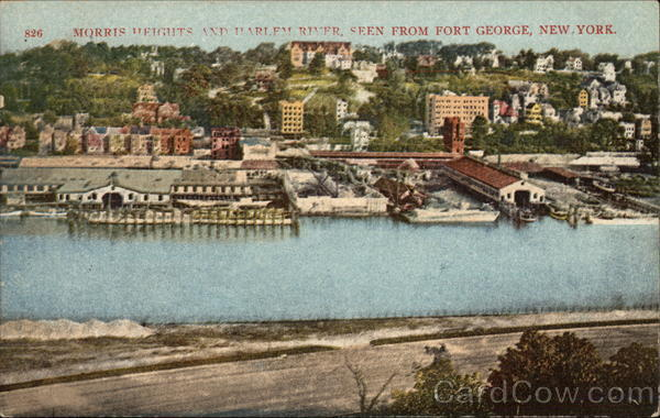 Morris Heights and Harlem River, Seen from Fort George New York