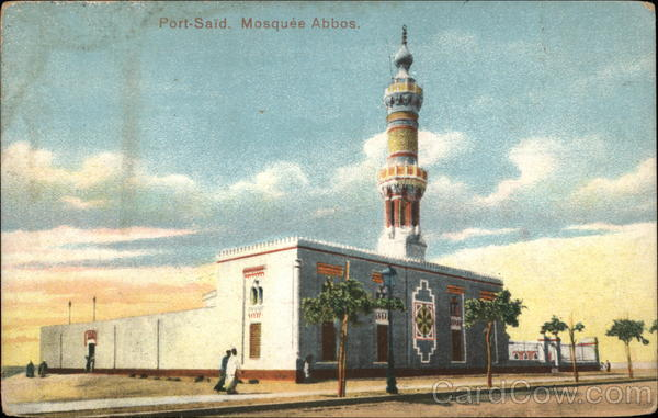 Mosquee Abbos Port-Said Egypt Africa