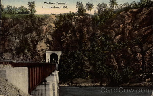 Welton Tunnel Cumberland Maryland