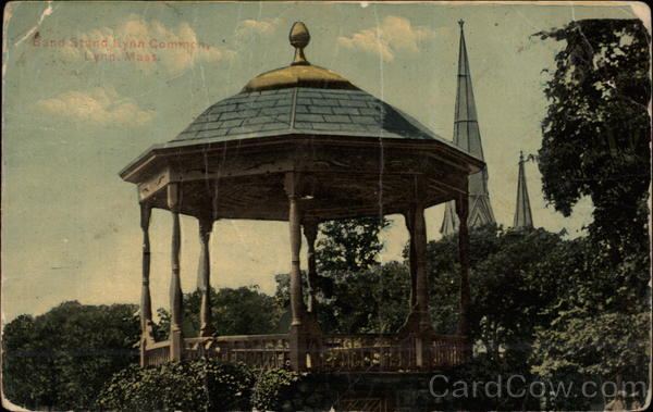 Band Stand, Lynn Common Massachusetts