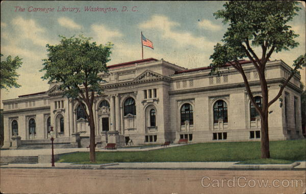 The Carnegie Library Washington District of Columbia