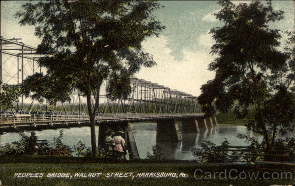 Peoples Bridge, Walnut Street Harrisburg Pennsylvania
