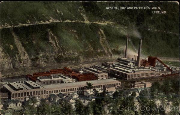 west va  pulp and paper co u0026 39 s mills luke  md