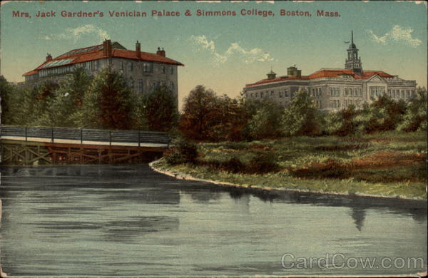 Mrs. Jack Gardner's Venician Palace & Simmons College Boston Massachusetts