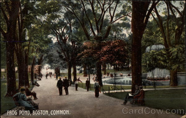 Frog Pond Boston Massachusetts
