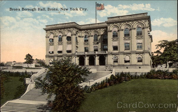 Bronx Borough Hall New York