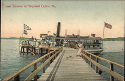 Steamer at Harpswell Centre