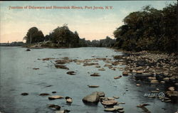 Junction of Delaware and Neversink Rivers