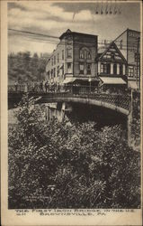 The First Iron Bridge in the U.S