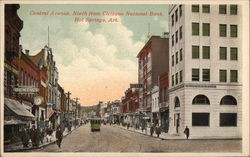 Central Avenue, North from Citizens National Bank