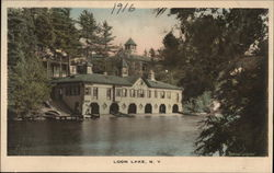 Buildings on Loon Lake