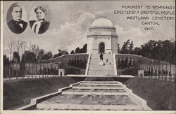 Monument to William McKinley, West Lawn Cemetary