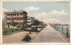 East Battery Postcard