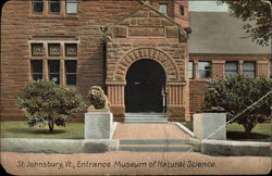 Museum of Natural Science - Entrance