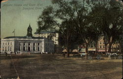 Atlantic Square and Town Hall Postcard