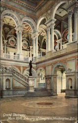 Grand Stairway, Main Hall, Library of Congress