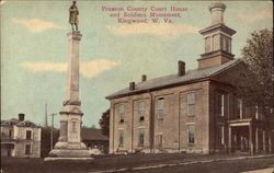 Preston County Court House and Soldier's Monument
