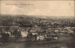 Bird's-Eye View of the City Postcard