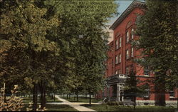Ladies Hall and Campus, Wesleyan College