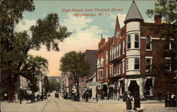 High Street From Pleasant Street