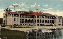 Casino from River, Belle Isle Postcard