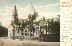Lyceum Hall, Old First Church, Meeting House Hill
