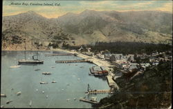 Aerial View of Avalon Bay