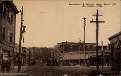 Intersection on Sawyer Avenue, Savin Hill