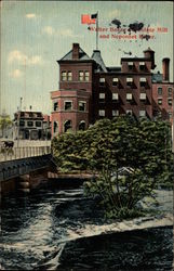 Walter Baker Chocolate Mill and Neponset River