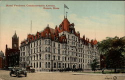 Hotel Vendome, Commonwealth Avenue