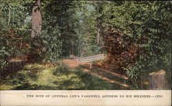 The Site of General Lee's Farewell Address to His Soldiers