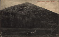 Old ROund top Postcard