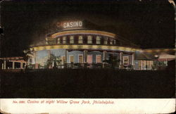 Casino at night, Willow Grove Park