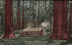 The Cabin, Mariposa Grove Of Big Trees