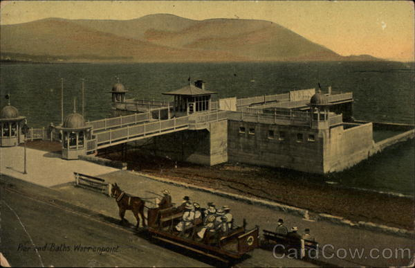Pier and Baths Warrenpoint Northern Ireland