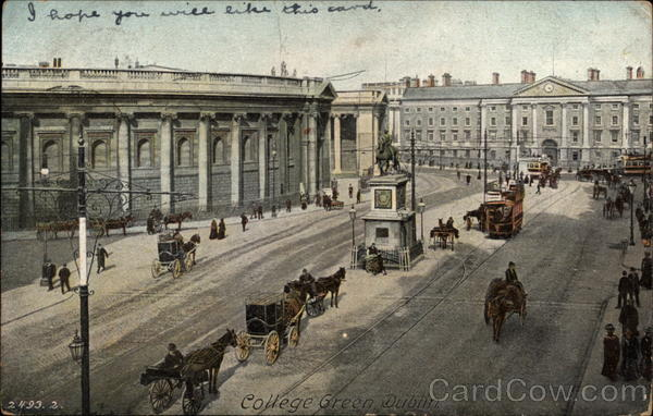 College Green Dublin Ireland
