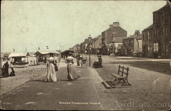 Promenade from West Redcar England