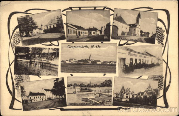 Various Views of Town Grafenworth Austria