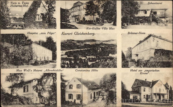 Multiple Views of Buildings in Gleichenberg Austria