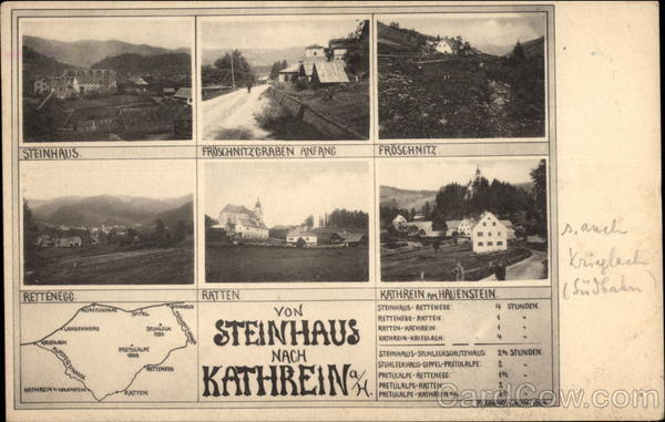 Views of Town and Surrounding Villages Sankt Kathrein am Hauenstein Austria